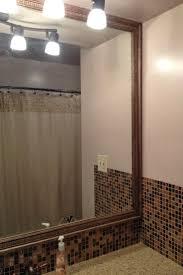 unique 50 bathroom mirror decorative trim design ideas of diy why