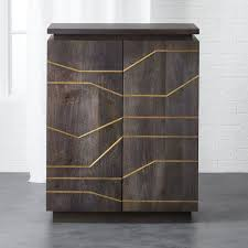 Cabinets Your Way Brass Inlay Cabinet Modern Cabinets Credenza And Consoles