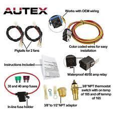 relay fans u0026 kits ebay