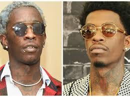 rich homie quan hairstyles young thug slams rich homie quan hiphopdx