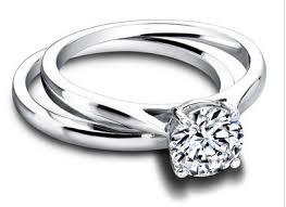 verlobungsring vorsteckring keep it simple verlobungsring als vorsteckring und glitzerndes