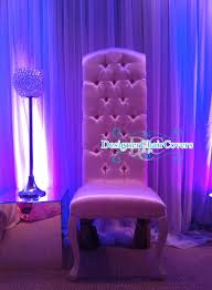 King And Queen Throne Chairs Elegant King And Queen Chairs Hire Designer Chair Covers To Go