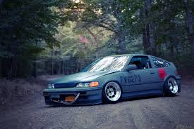 stanced honda honda crx wallpaper wallpapers browse