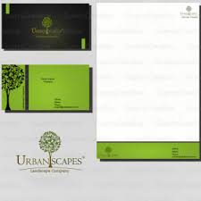 Business Card And Letterhead Design Contest For Logo And Stationery For Landscape Company