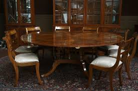 round mahogany dining table and chairs with concept photo 2805