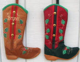 western christmas stockings for horse lovers