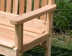 Garden Patio Furniture Red Cedar English Garden Patio Chair