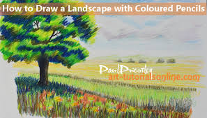 How To Draw Landscapes by Draw Landscapes Art Tutorials Online