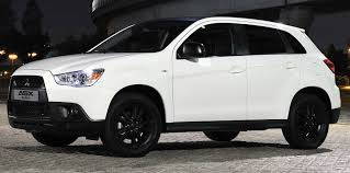 mitsubishi attrage black mitsubishi asx black special edition launched in the uk