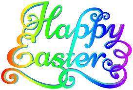 rainbow happy easter transparent png clip art image gallery
