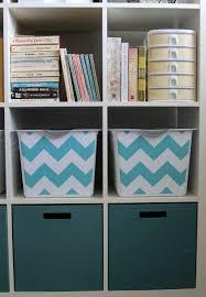 Storage Bin Shelves by Get Organized With Easy Diy Fabric Covered Storage Bins It U0027s