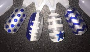 dallas cowboys nails for polish sake