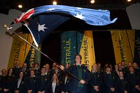 Ceremony Flag Scotty James Named Aussie Flag Bearer For Opening Ceremony Snowsbest