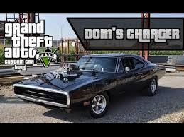 gta 5 dodge charger gta 5 dom toretto s dodge charger tutorial declasse vigero