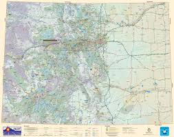 State Map Of New Mexico by Large Detailed Tourist Map Of Colorado