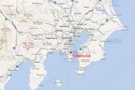 map us japan us navy base yokosuka japan map