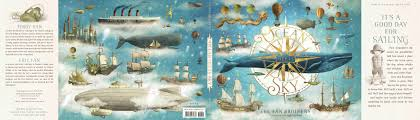 terry fan the whale art print cover reveal ocean meets sky by terry fan and eric fan fuseeight
