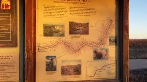 Caprock Canyon State Park Map by Caprock Canyons Trailway Texas Kotaho