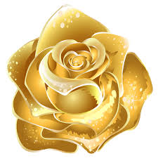 Golden Roses Gold Clipart Rose Pencil And In Color Gold Clipart Rose
