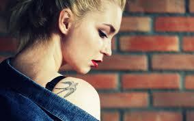 wall blonde tattoo 7014754