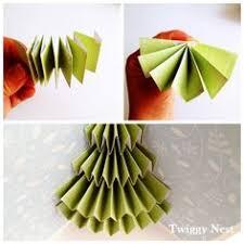 make a christmas tree pop up card robert sabuda method