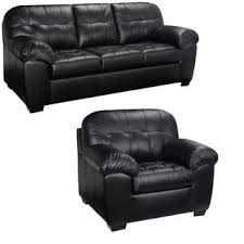 Leather Sofa Store Black Italian Leather Sofa And Chair Set This Living