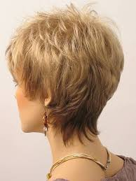 front and back views of chopped hair hairstyles for women over 60 short hair styles for women over 50