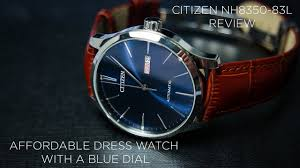citizen nh8350 83l review best dress watch with a blue dial