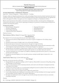 Psychology Resume Templates Retail Regional Manager Resume Educational Trainer Sample Resume