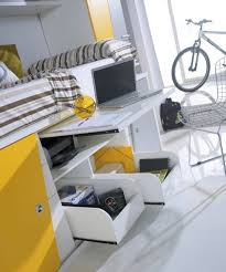 Under Desk Storage Drawers by Sliding Storage Drawers Underneath Made From White Yellow Colors