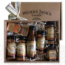 manly gift baskets wickedly manly gift box wjt spice gift box the home depot