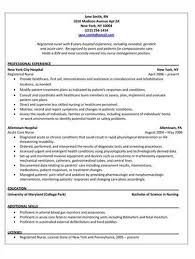 Rn Resume Cover Letter Examples by Pacu Nurse Cover Letter