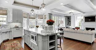 Kitchen Family Room Ideas Plan Ideas For A Combined Family Room Kitchen Fairfax Kitchen Bath