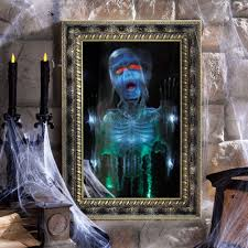 haunted magic mirror the green head