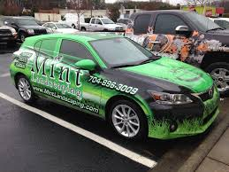 lexus by texas nerium lexus u0027mint landscaping u0027 wrap by tier 1 graphics in cornelius nc