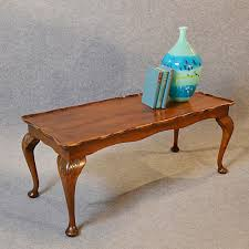 antique coffee table low sofa magazine occasional walnut edwardian