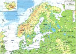 map of n europe map northern europe countries angelr me