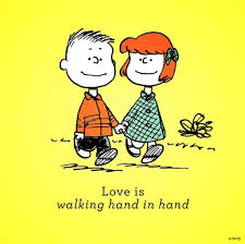 happy thanksgiving charlie brown quotes love is walking hand in hand peanuts pinterest snoopy