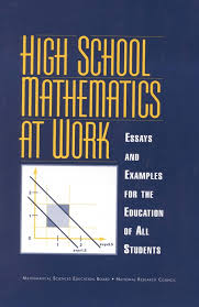 books for high school graduates high school mathematics at work essays and exles for the