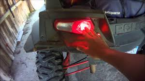 rzr xp side by side part 3 the lights