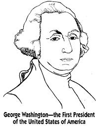George Washington Color Page george washington coloring pages best coloring pages for