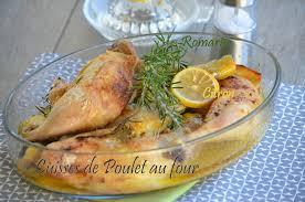 cuisiner cuisse de poulet au four cuisses de poulet citron romarin le de c est nathalie qui