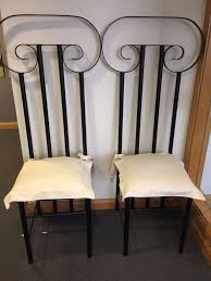 Rod Iron Dining Chairs Wrought Iron Dining Chairs For Sale Home Design Ideas