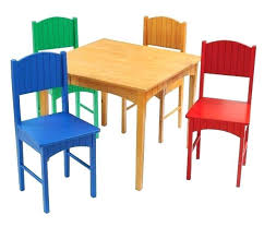 daycare table and chairs wooden childrens table wood tables and wooden chair at daycare