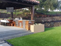custom outdoor kitchen design granite bay roseville ca verde