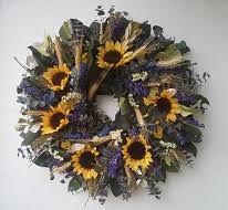 sunflower wreath our sunflower wreaths will brighten your home