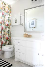 How To Make Curtains Longer How To Turn A Window Curtain Into A Shower Curtain Crazy Wonderful