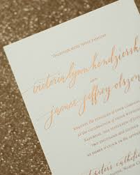 foil wedding invitations rustic boho wood and copper foil wedding invitations