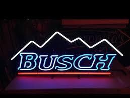 busch light neon sign busch light neon sign real neon light for sale hanto neon sign
