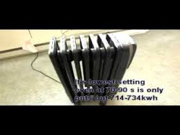 Comfort Temp Delonghi Best Oil Heater In The World Delonghi Radiant Oil Heater Youtube